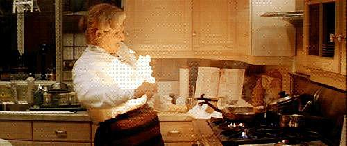 When Mrs. Doubtfire Learns to Cook