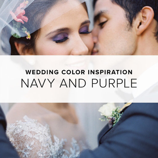 Navy and Purple Wedding Theme | Shopping
