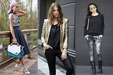 Best of the Week's Style Blogs: Sharp Metallics