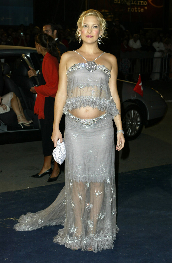 Kate Hudson in Beaded Two-Piece at 2003 Venice Film Festival