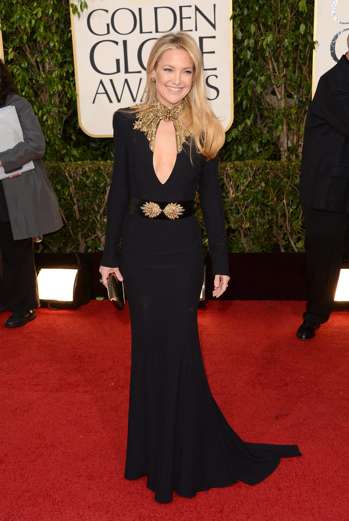 Kate Hudson in Alexander McQueen at 2013 Golden Globes