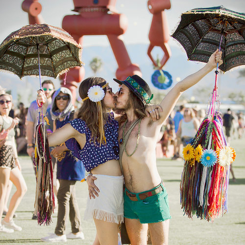Cute Couples at Summer Music Festivals