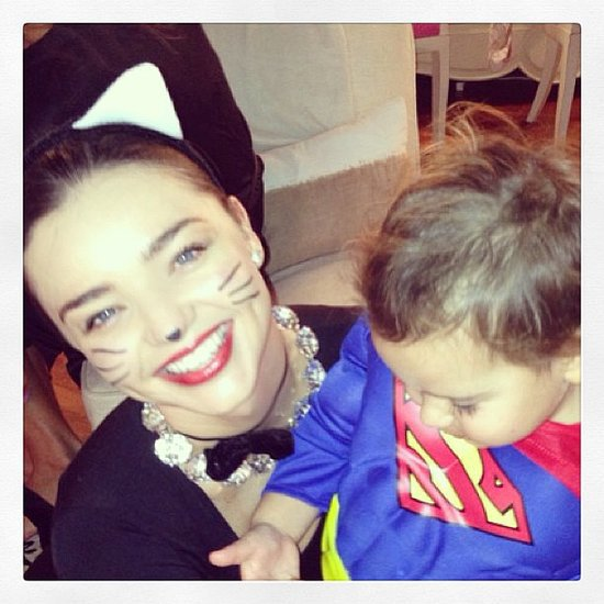 Miranda Kerr Birthday Pics: Victoria's Secret; Flynn Bloom