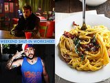 "Weekend Shut-In Worksheet: Watch ""Fargo,"" Check Out Bodega Bamz & Make Butternut Squash Carbonara"