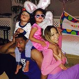 """Happy Easter"" From Mariah Carey & Family"