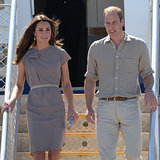 Prince William and Kate Middleton at Uluru on Royal Tour