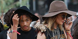 Kylie Jenner And Jaden Smith Match At Coachella