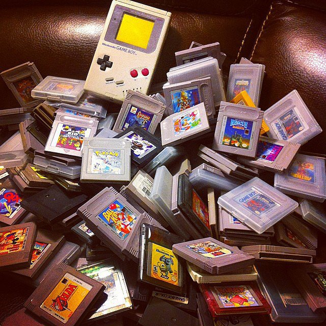 All the games! Source: Instagram user johnblueriggs