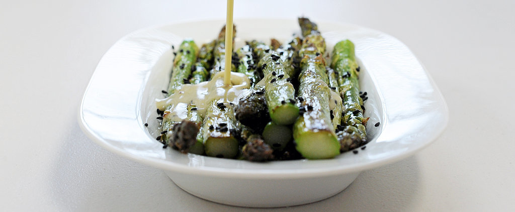 Roasted Asparagus Gets a Wow-Worthy Wasabi Twist