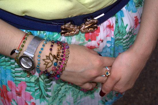 muchas Pulseras para complementar un look primaveral #Jfashionblog