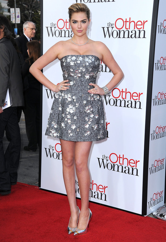 Kate Upton in Dolce & Gabbana at the LA Premiere of The Other Woman