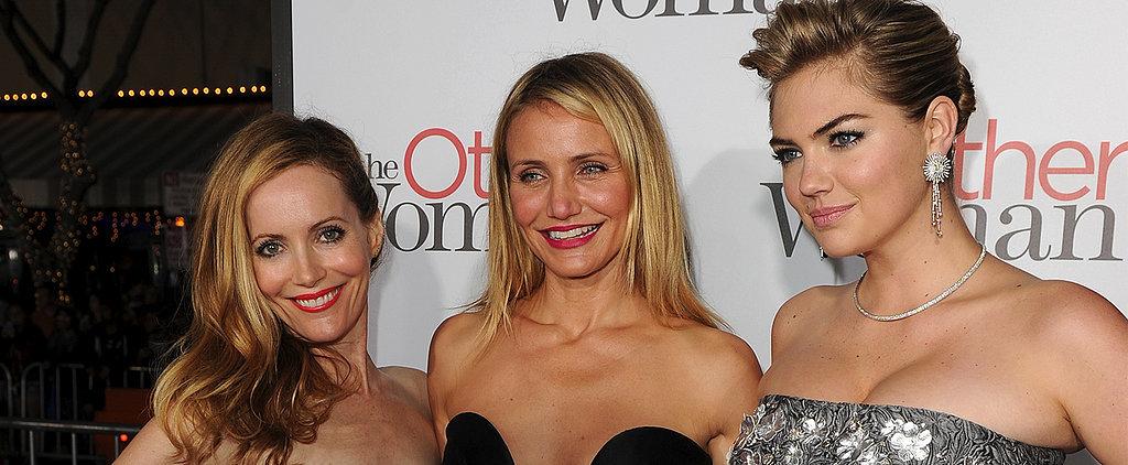 Cameron, Leslie, and Kate Talk Skinny-Dipping Scandals Today on POPSUGAR Live!