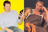 Nick Lachey Comes Face-To-Face With His Frightening Old Boy Band Photos
