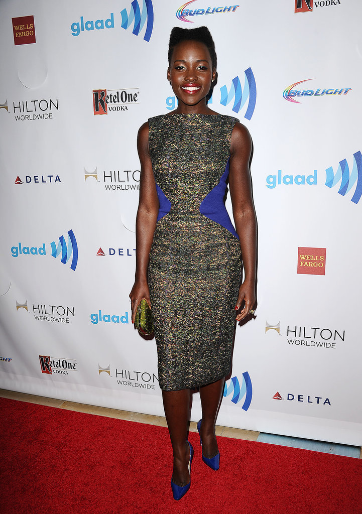 Lupita Nyong'o at the GLAAD Media Awards