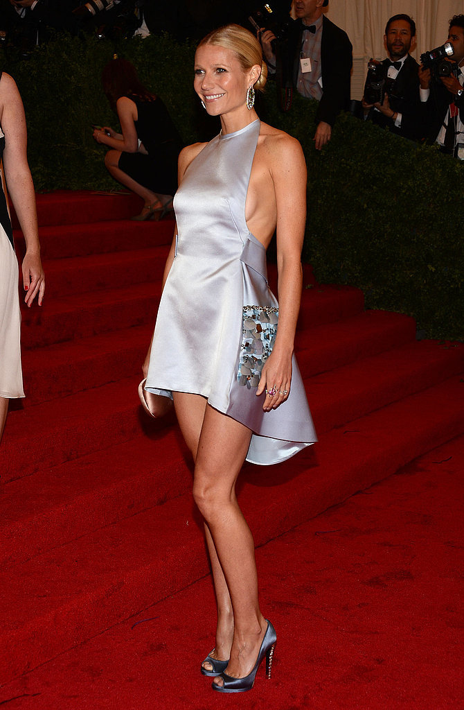 Gwyneth Paltrow in Prada at the 2012 Met Gala