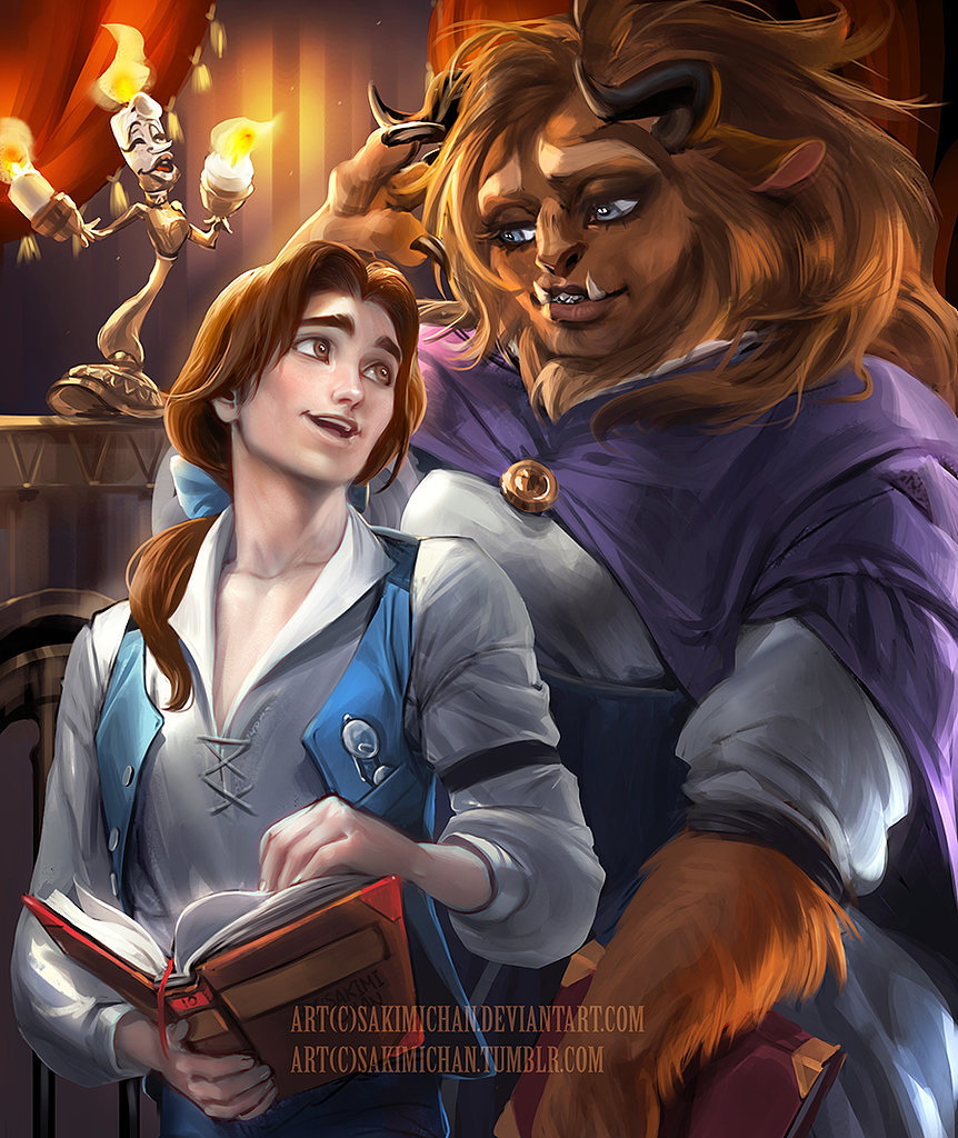 Gender-Flipped Belle and the Beast