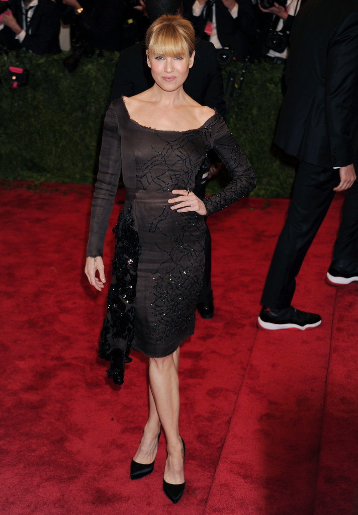 Renée Zellweger in Prada at the 2013 Met Gala