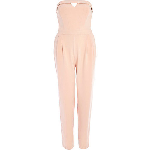 River Island Strapless Jumpsuit