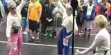 Watch These Grooving 'Grannies' Get Down Before Running Marathons For A Good Cause
