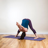 Yoga Pose 1: Wide-Legged Forward Bend C