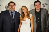 Jon Favreau, Sofia Vergara, and Oliver Platt attended their Chef premiere.