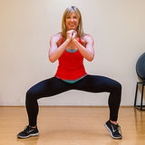 Move 1: Sumo Squat With Calf Raises