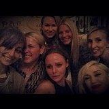 Nicole Richie, Chelsea Handler, Naomi Watts, Gwyneth Paltrow, Stella McCartney, Gwen Stefani, and Sam Taylor-Wood took a star-studded selfie. Source: Instagram user gwynethpaltow