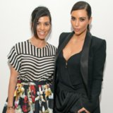 Kim and Kourtney Kardashian Outfits