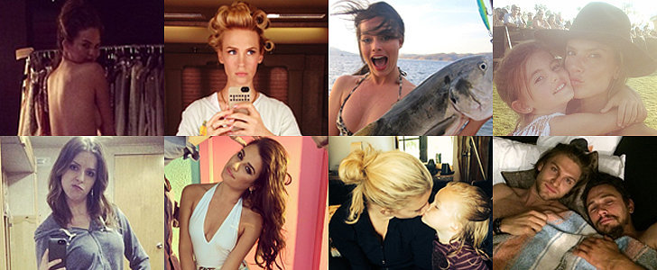 Stars Share Sexy Selfies and Sweet Family Moments in This Week's Candids