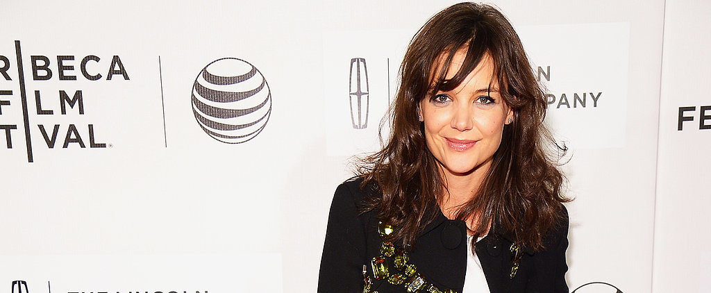 We're Adding Katie Holmes to Our Best Dressed List Today on POPSUGAR Live!