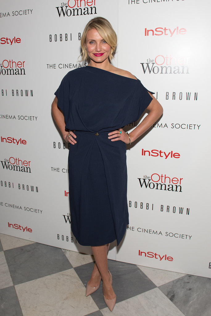 Cameron Diaz in Vionnet at a New York Screening of The Other Woman