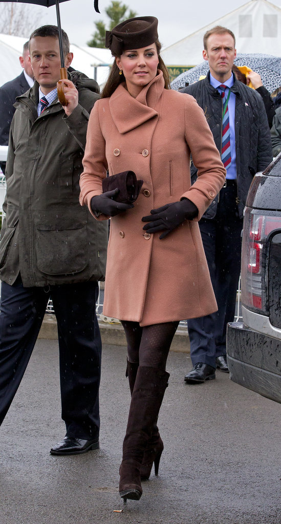 Kate Middleton at the Cheltenham Festival in 2013