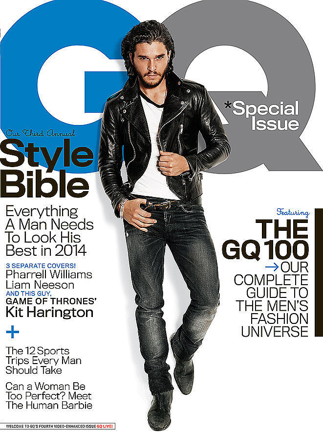 But smile or not, this month's GQ cover may just win our hearts.