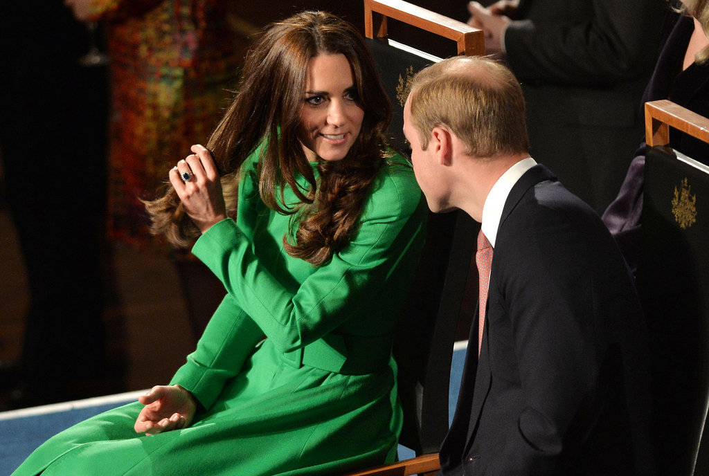 """Hmm, Remember When William Had All His Hair?"""