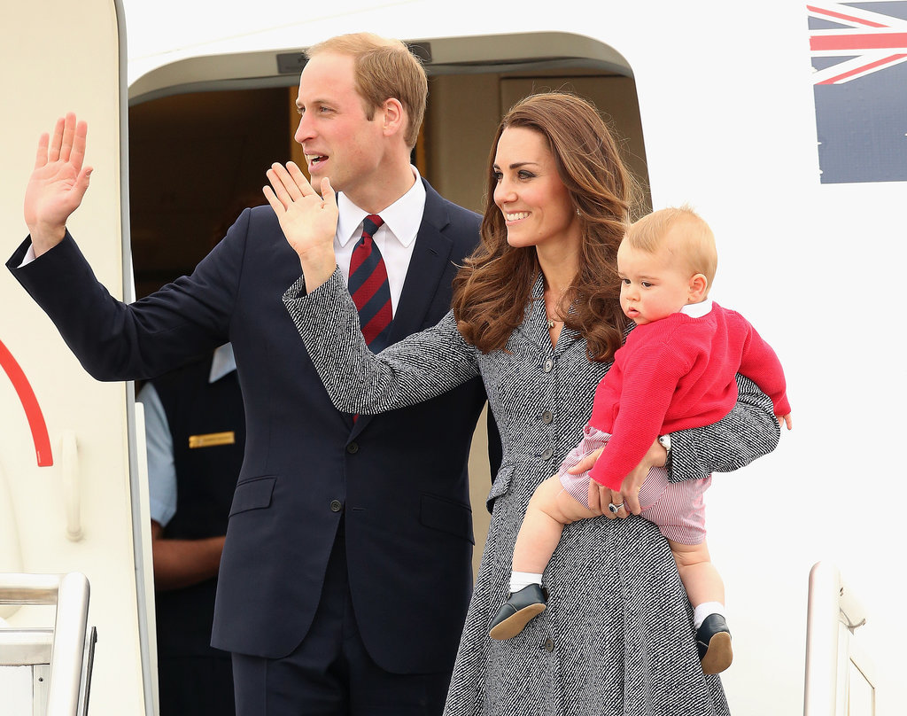 The royal family's picture perfect final tour moment.