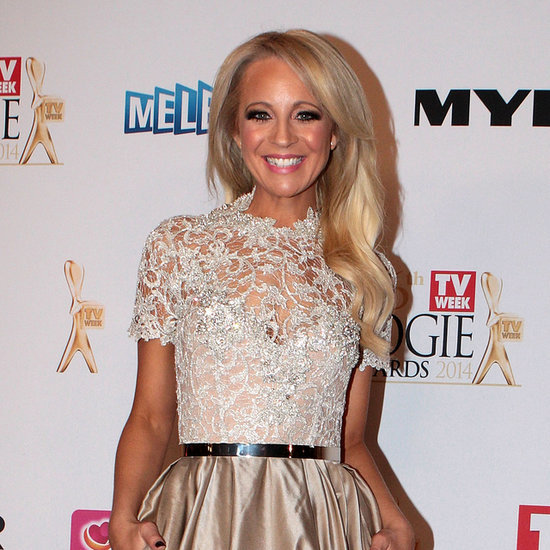 Pictures of Carrie Bickmore at 2014 Logie Awards