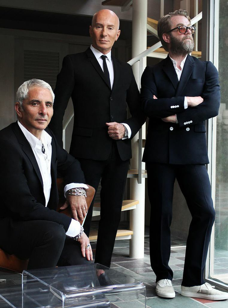 R+Co Founders: Thom Priano, Garren, and Howard McLaren