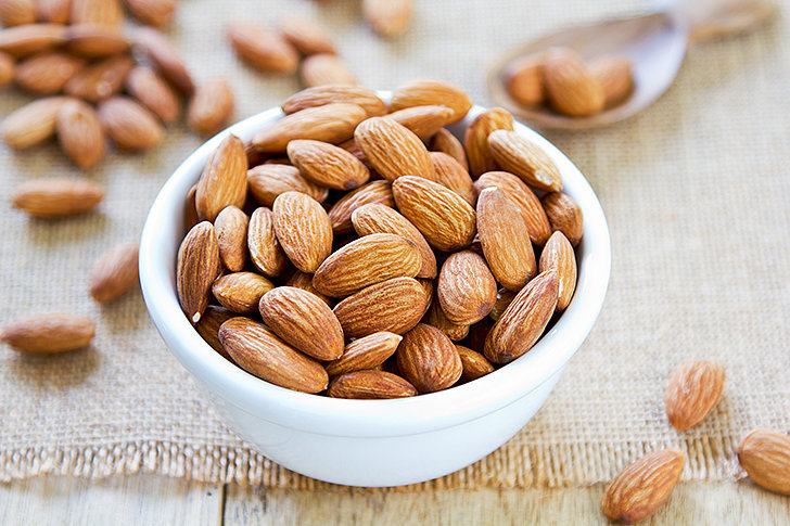 Morning Snack: Raw Almonds