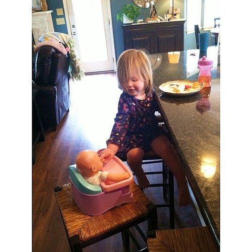 She Loves Her Baby