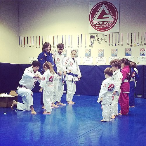 . . . And at Karate