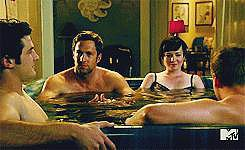 When Mr. Hamilton Crashes Jenna's Hot-Tub Session