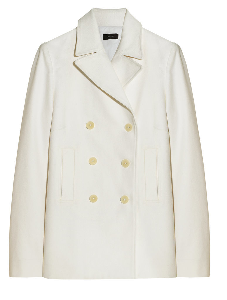 Joseph White Double-Breasted Coat