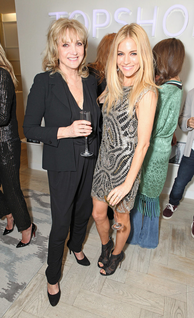 Linda Moss and Sienna Miller at the Kate Moss For Topshop Launch