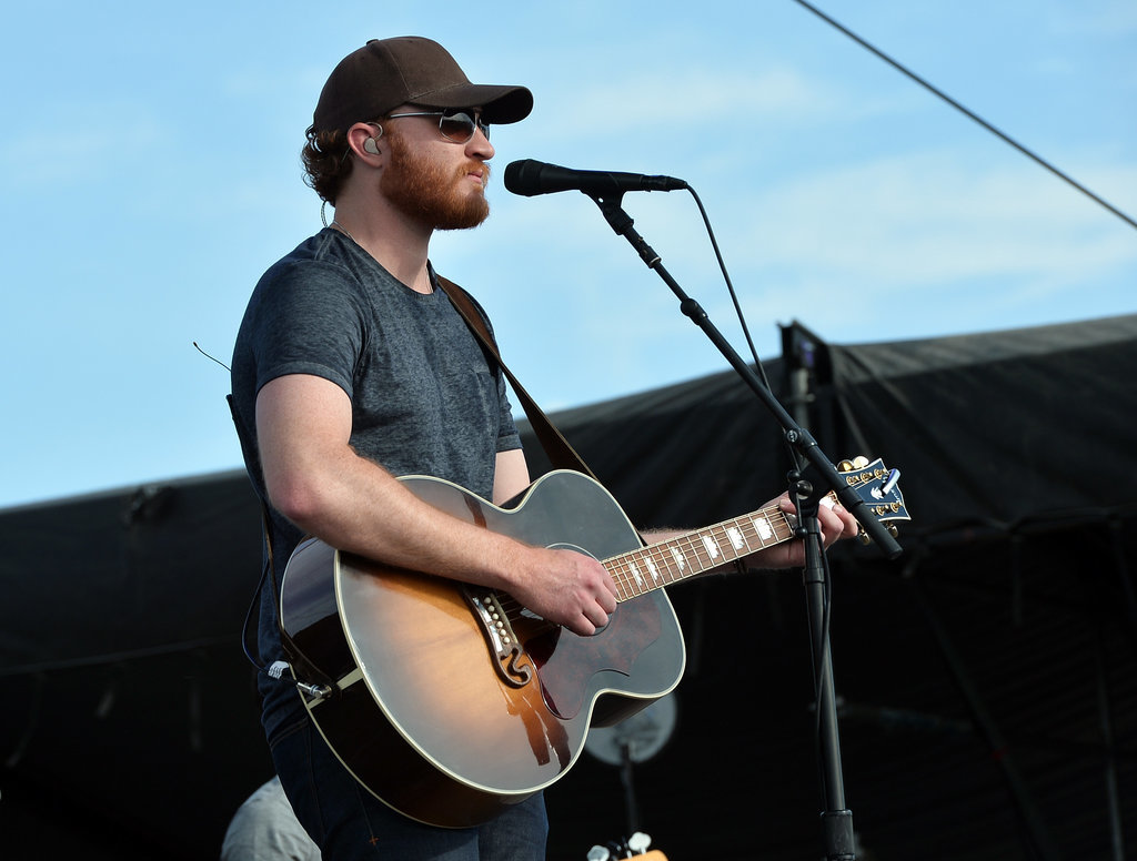 There's even a bearded ginger — Eric Paslay!