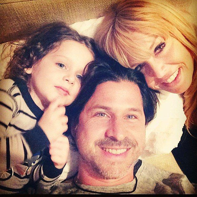 "Rachel Zoe had the ""perfect Sunday"" with two of her three guys — Skyler and Rodger Berman. Source: Instagram user rachelzoe"