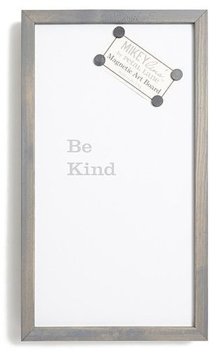 Mikeylin's 'Be Kind' Quotable Framed Magnet Art Board