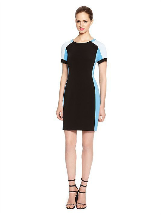 DKNY Colorblock Sheath