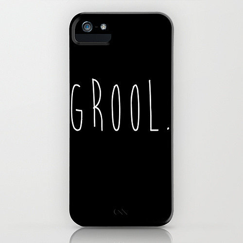 Grool iPhone/Galaxy S4 cover ($35)
