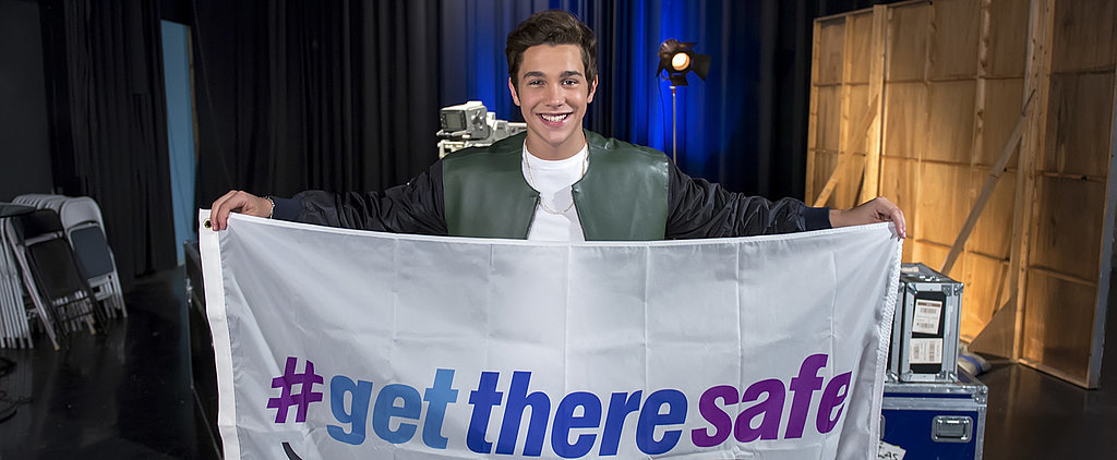 Austin Mahone Wants Teens to Drive Safe and Be Kind