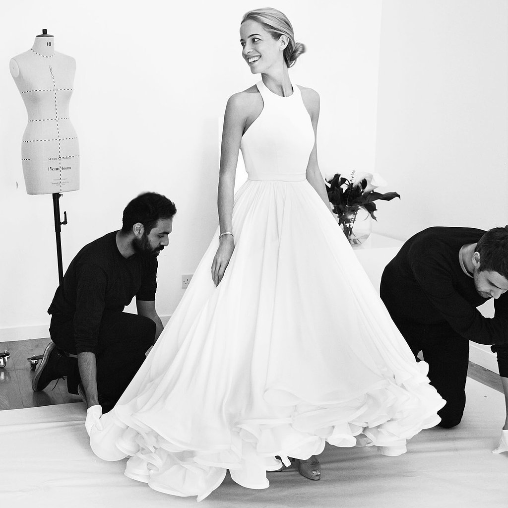 We're Beyond Excited This Designer Is Trying Bridal!